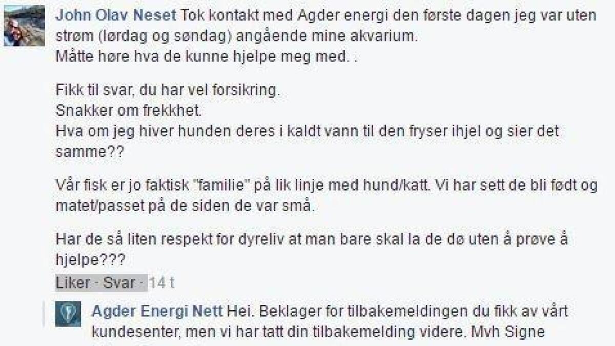 Agder energi min side