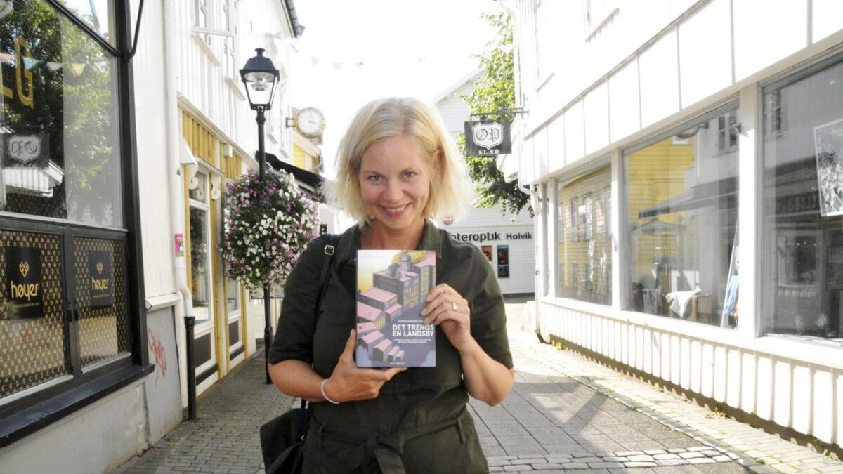 Sigrun Gjerløw Aasland flyttet til Østerhus og Grimstad som fireåring, og har hatt hele sin oppvekst her. Som 18 åring flyttet hun, og nå bor hun i Oslo.
