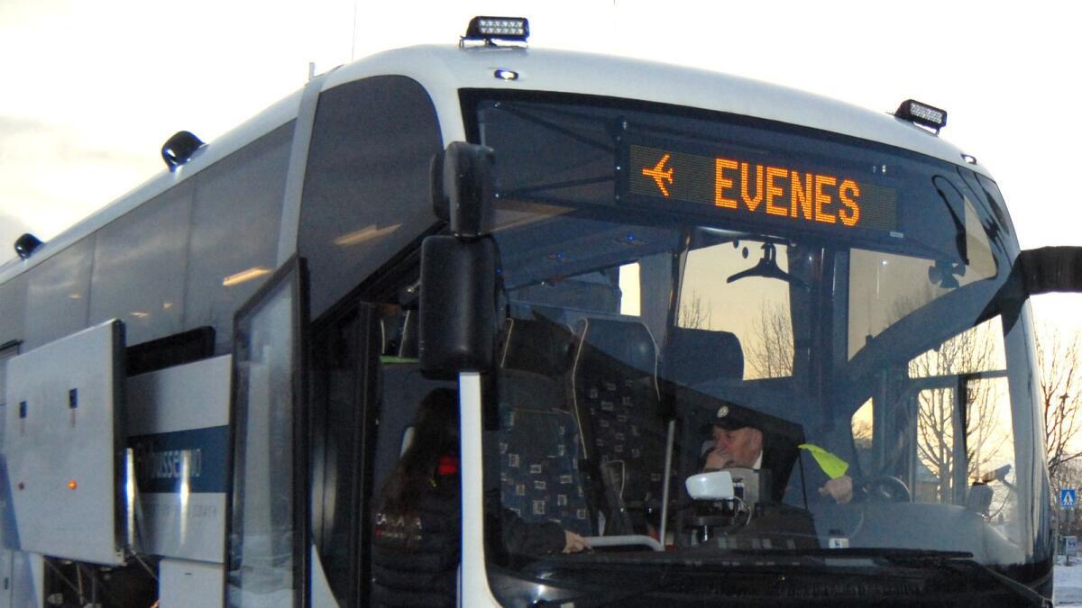 Flybussen sortland evenes