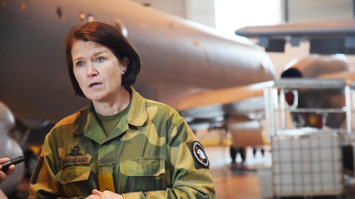 – Det er er trist at hovedfokus hos mange aktører blir motstand mot det som endres, sier sjefen for Luftforsvaret, Tonje Skinnarland.
