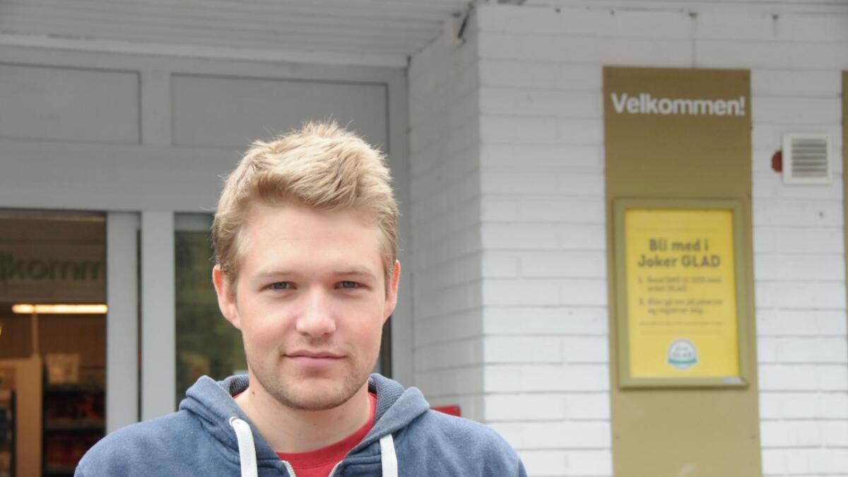 Sverre Haugsvold hadde stemt tidleg på valdagen og meiner det er viktig å gjere borgarplikta si.