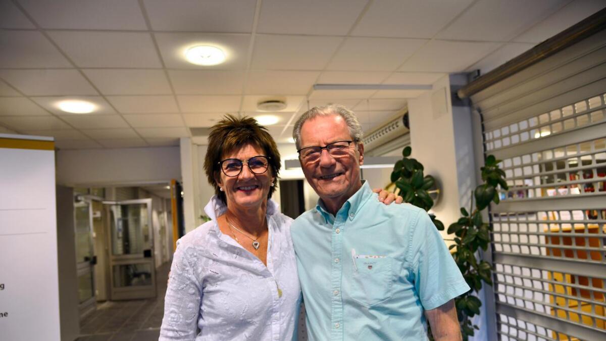 – For meg er Arne en av de yngste, sier kommende ordfører Marianne Landaas om sin partikollega, 87 år gamle Arne Bjørnstad.
