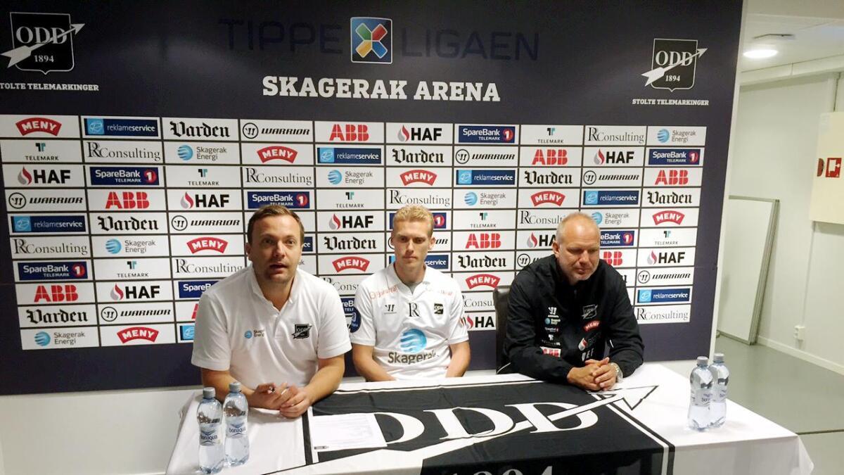 Steffen Hagen skrev kontrakt med Odd ut 2019-sesongen
