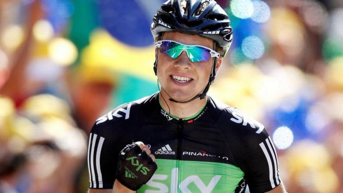 Edvald Boasson Hagen sørget for en ny triumf på dagens etappe i Tour de France.