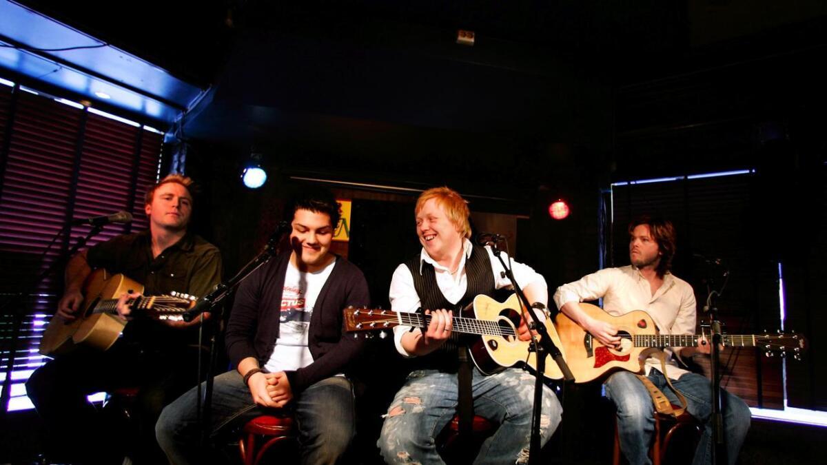 Askil Holm, Alejandro Fuentes, Kurt Nilsen og Espen Lind.