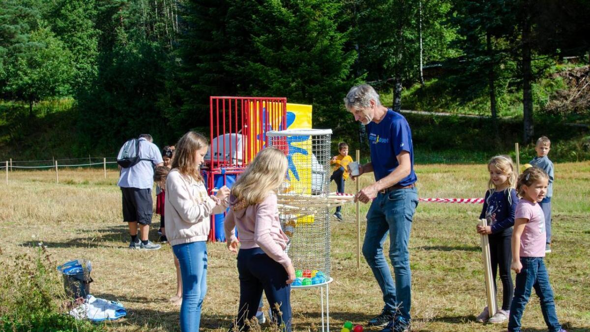 Knut Svendsen er oppfinneren bak disse aktivitetene beregnet på barn.