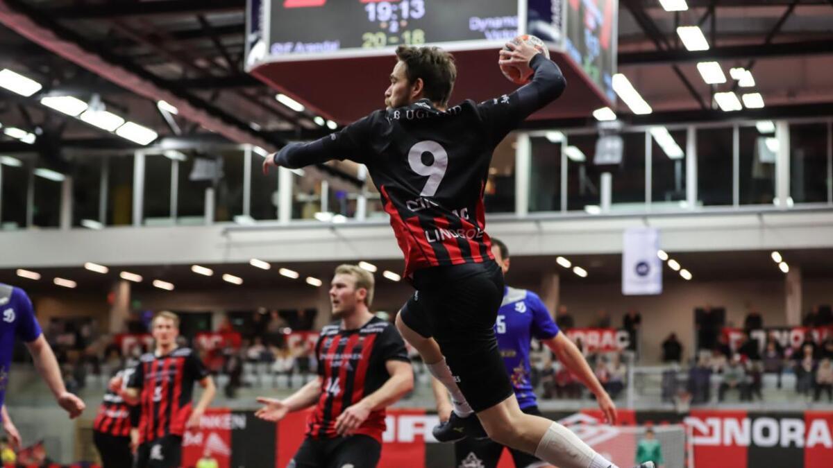 André Lindboe spilte en strålende kamp mot Dynamo Victor i Sør Amfi. Han noterte seg for hele 12 scoringer mot russerne i første av to oppgjør.