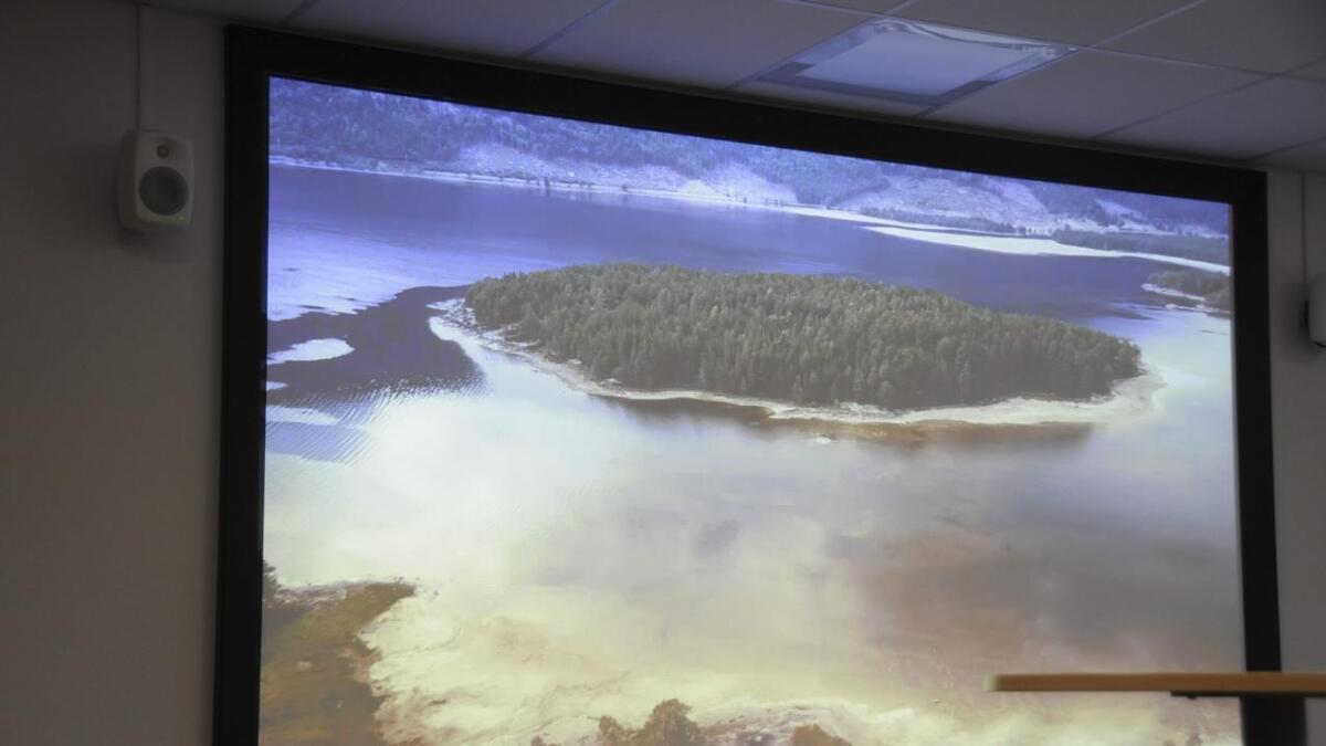 Bildet er frå ein film som er laga i samband med spektakulære opplevingar på Kjeøyni, mellom anna gangveg opp i trea.