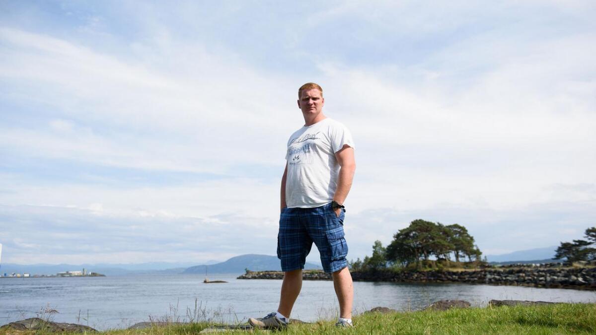Etter fem år på som matros ser ikkje Thomas Kristoffersen (34) særleg lyst på å få seg ny jobb til sjøs.