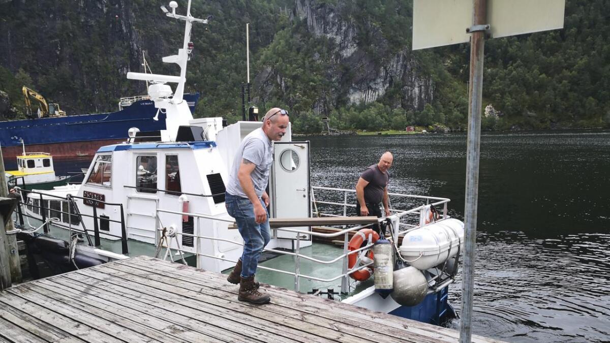 Tidlegare i år overtok Osterøy ferjeselskap ansvaret for å driva båtruta i Osterfjorden med «Ospenes». Til sommaren kan neste båtrute vera ein realitet.
