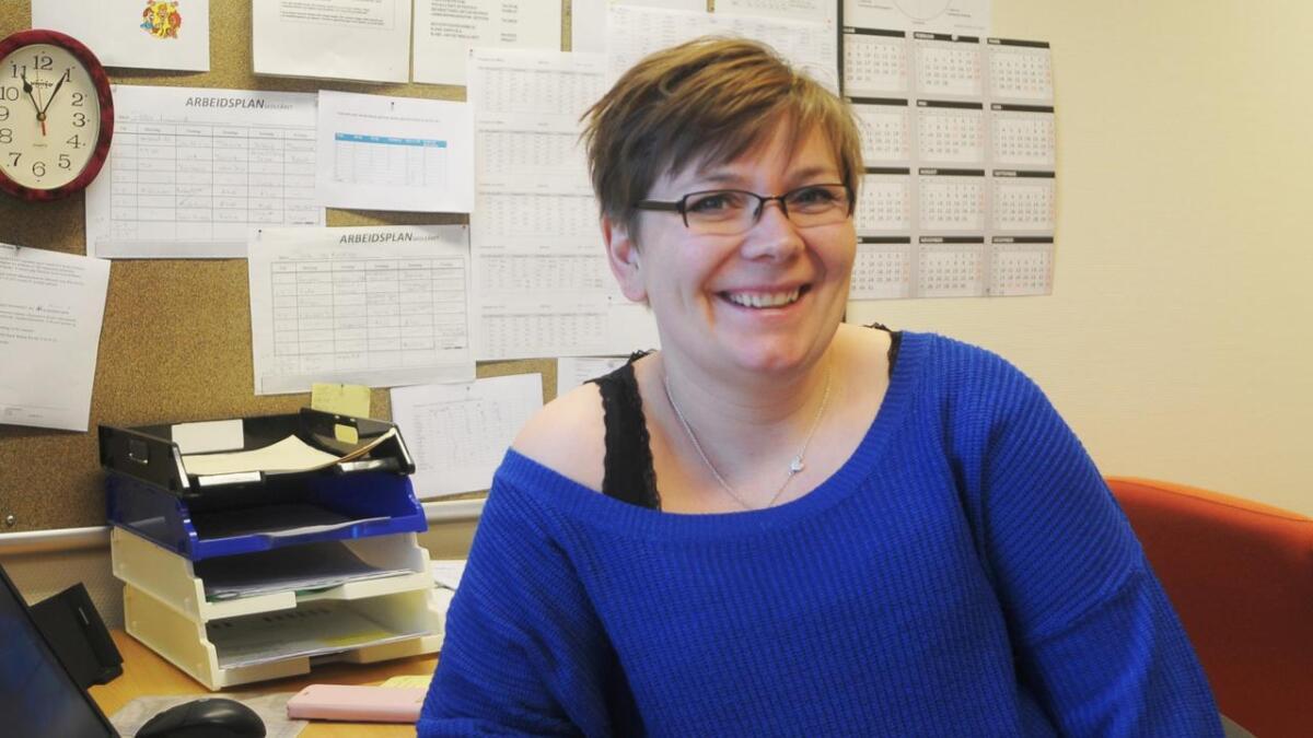 Karen Steinsvik, avdelingsleder ved Sortland vgs. avd. Øksnes.