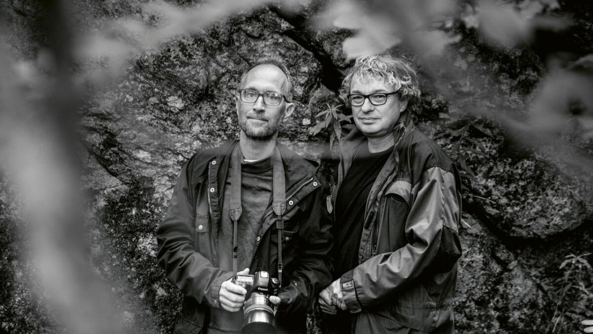 Stig B. Hansen og Ole Mathismoen.