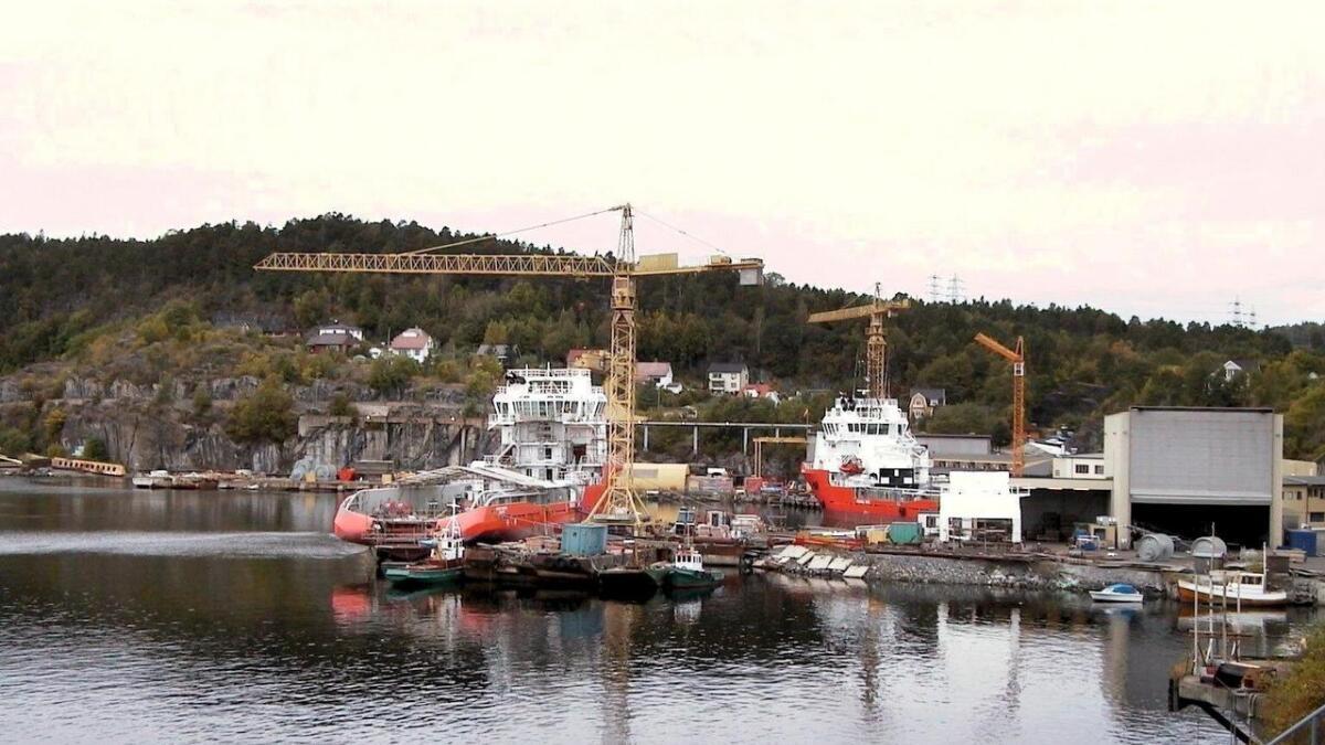 I området der skipsverftet Vard ligger foreslår rådmannen i Porsgrunn at man anlegge et nytt havneanlegg for å motta skip som kommer med farlig, uorganisk avfall, skriver PD.