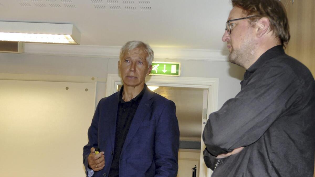 Når K5-prosjektet startar, vil det verta reine «Klondyke» i Vaksdal, noko som leiar i Vaksdal næringsselskap, Vidar Skeie (til høgre) sikkert likte å høyra.