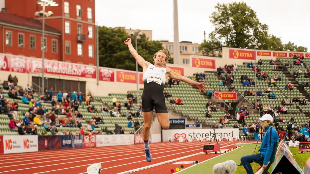 Marius Bull Hjeltnes seier sjølv at han er i veldig bra form for tida.