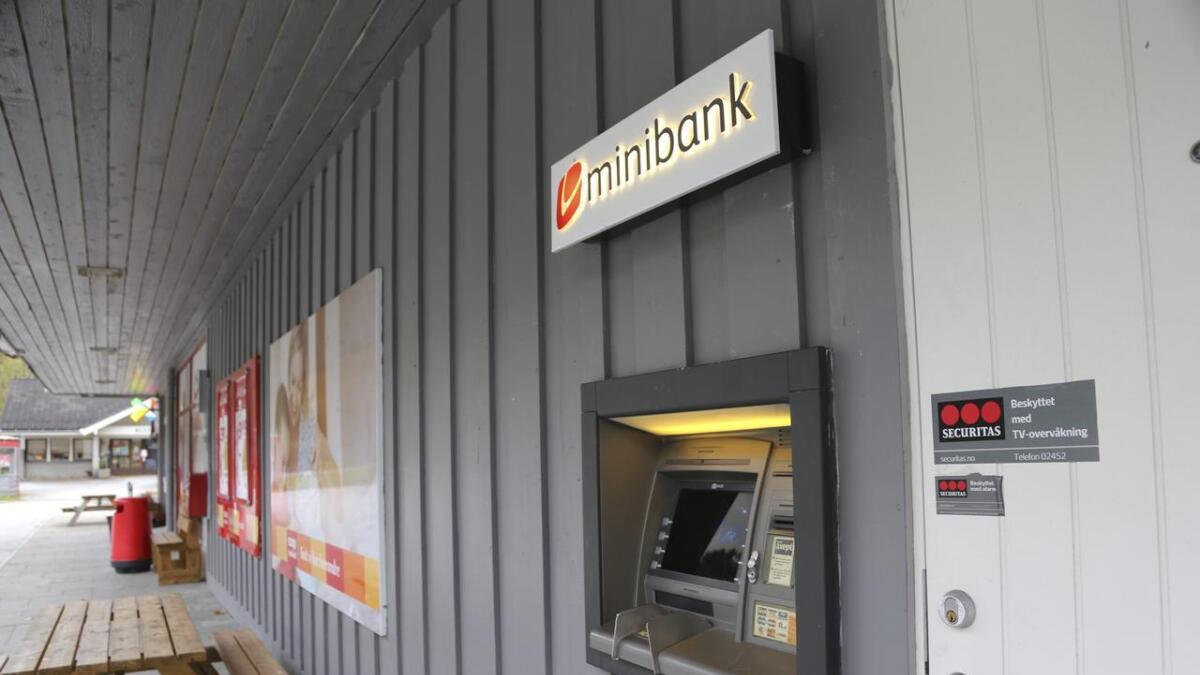 Frå 11.november vert minibanken i Granvin borte, varslar Sparebanken Vest.