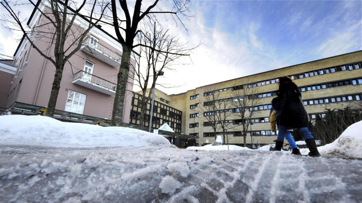 Sykehuset Telemark var blant sykehusene i Helse Sør-øst som ble rammet av svikt i datasystemet.