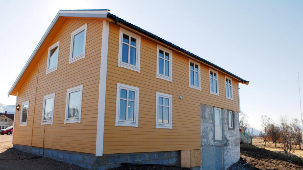 Den gamle fjøsen er restaurert til Mortens Krukke.