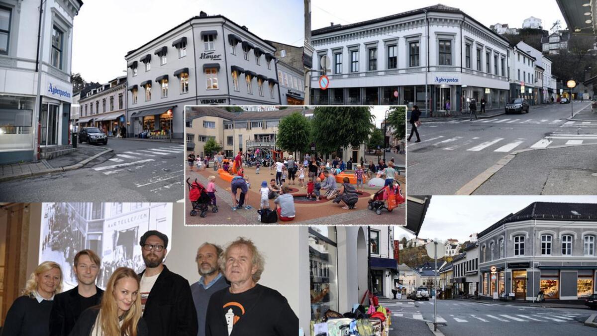 Nå planlegges kreative forretninger, festplasser og scener i sidegatene rundt Torvet.