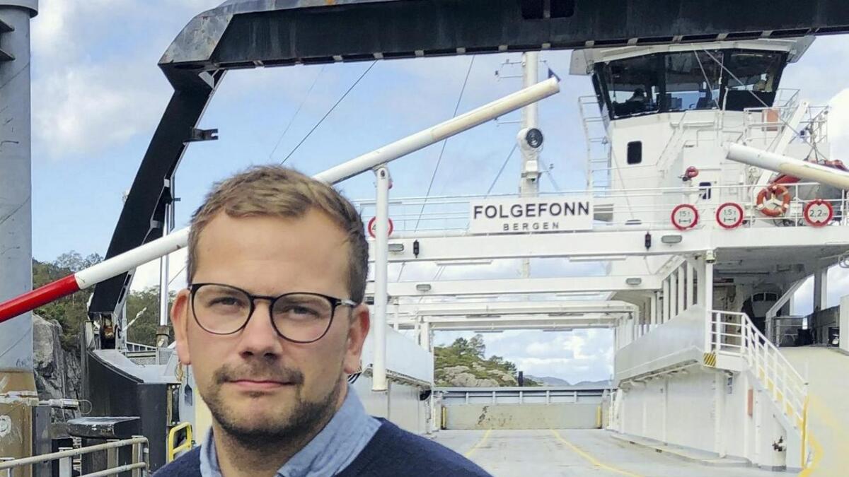 Øyvind Kyvik understrekar at Stord Høgre ikkje støttar debattinnlegget Torbjørn Hauge har skrive.