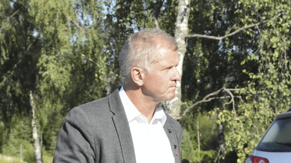 Ordførar Tarjei Gjelstad (Ap).
