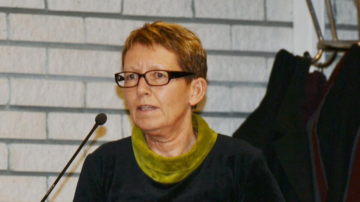 Andøy-rådmann Kirsten Lehne Pedersen.