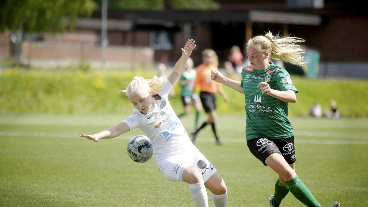 Karianne Knudsen Haslekås og Snøgg J19 vant NM-runden.