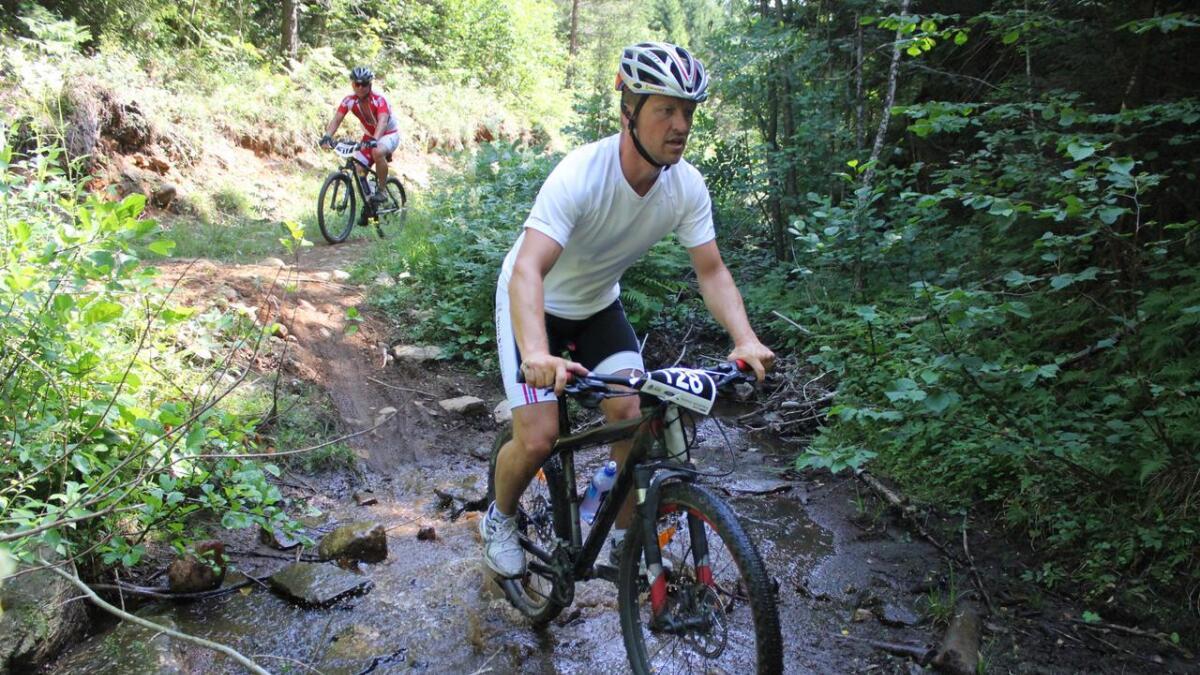 Rune Omdal var en av de 130 deltakerne som startet i fjorårets utgave av Skagerrakrittet. I år ligger det an til at det blir 150 terrengsyklister i rittet.