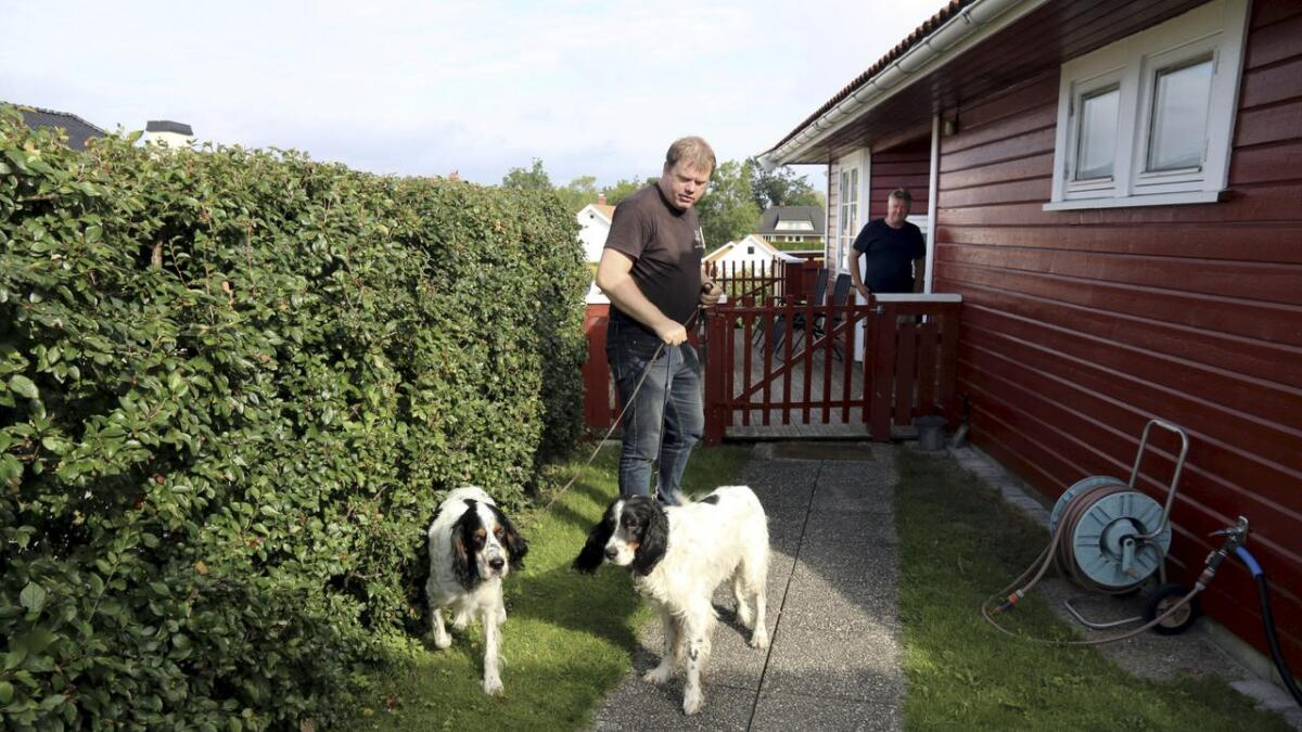 Hos Roger Beck og Monica Næss-Tvervig hos Skien Hundelufting på Jarseng i Skien er det hundene som står i sentrum.