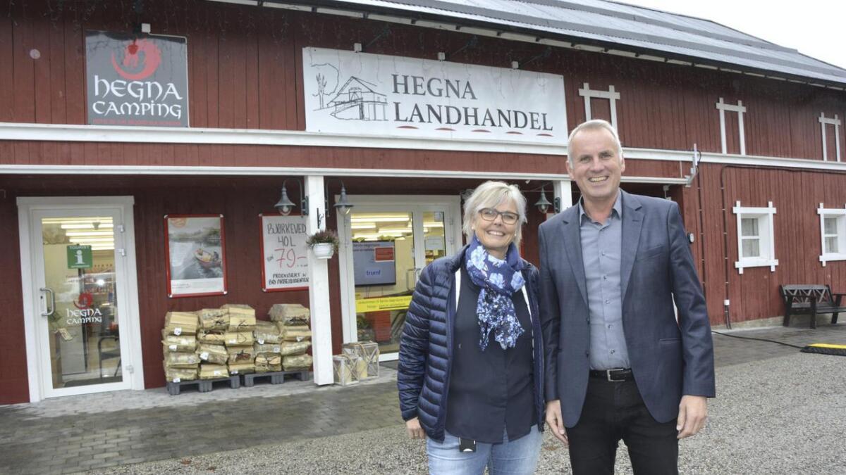 Gro Cathrine Aasgrav og Hans Olav Bakås har bygd opp eit unikt konsept der kunden kan handle utan behov for at dei tilsette er fysisk til stades.alle