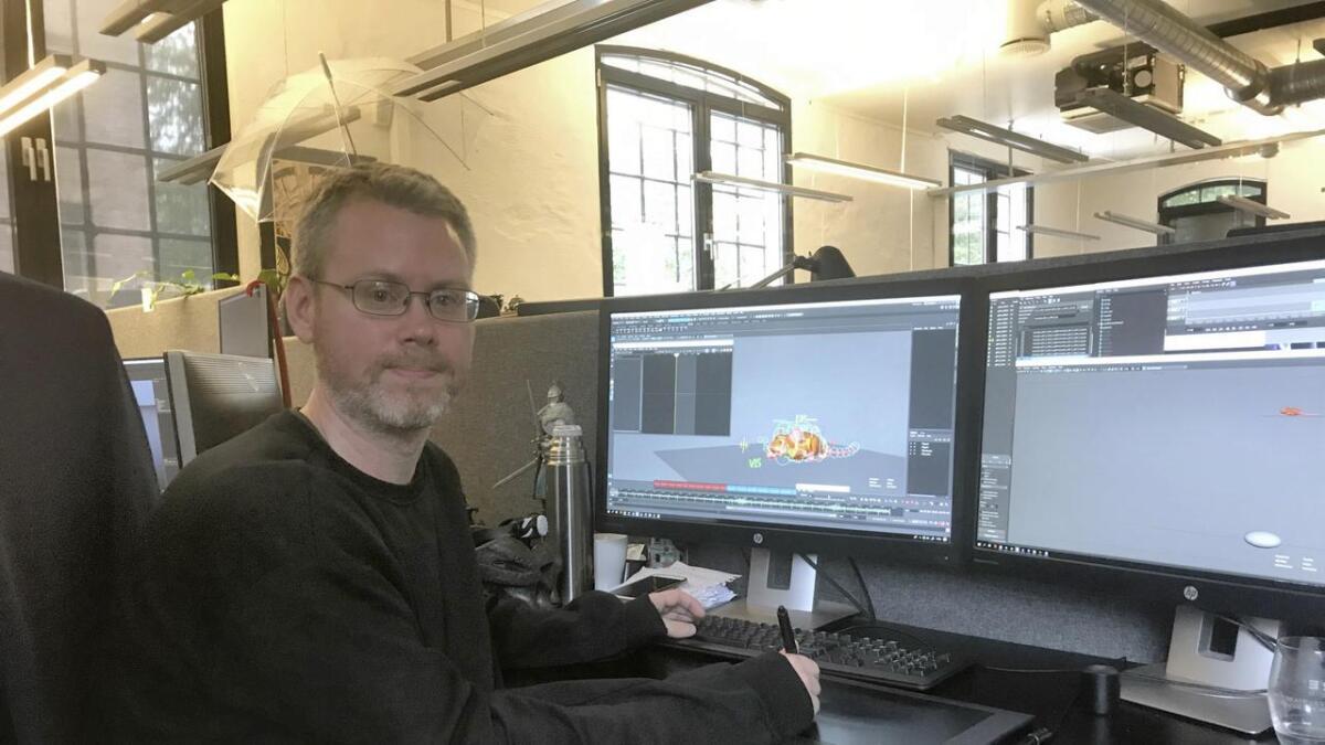 Mads Ringdal har jobba i nesten eitt år med animasjonane til den nye Kaptein Sabeltann-filmen.