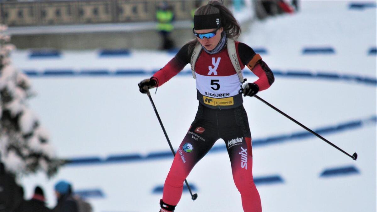 Åsne Ulvund har gjort ein god treningsjobb og er i rute til det ho håpar skal bli hennar beste sesong så langt.