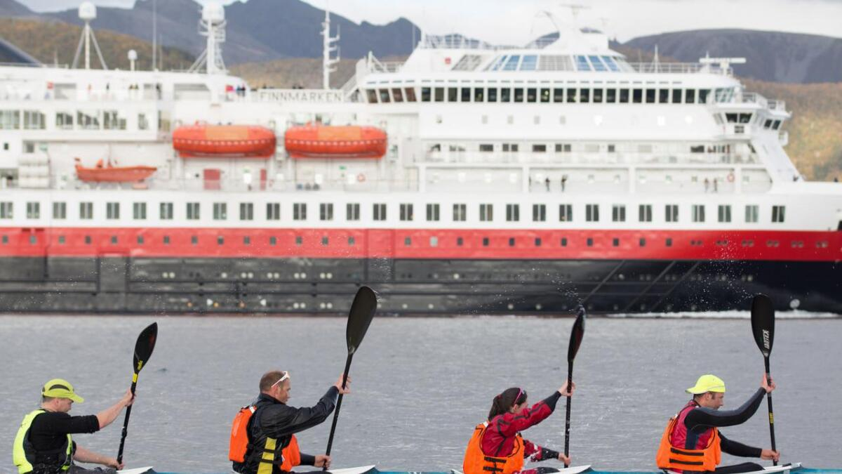 Det blir muligheter for å prøve padling sammen med Vesterålen padleklubb.