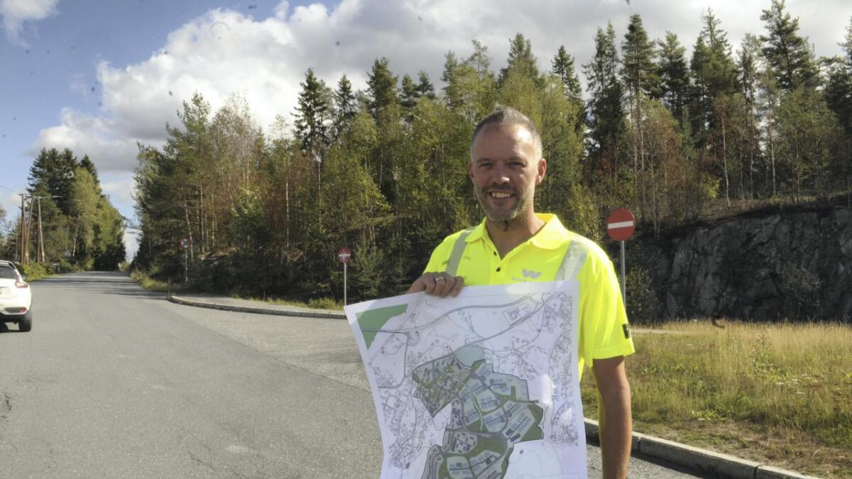 Henry Dahl Johansen, prosjektutvikler Block Watne, slår fast at dette prosjektet vil binde tettstedene Auli og Rånåsfoss mer sammen.