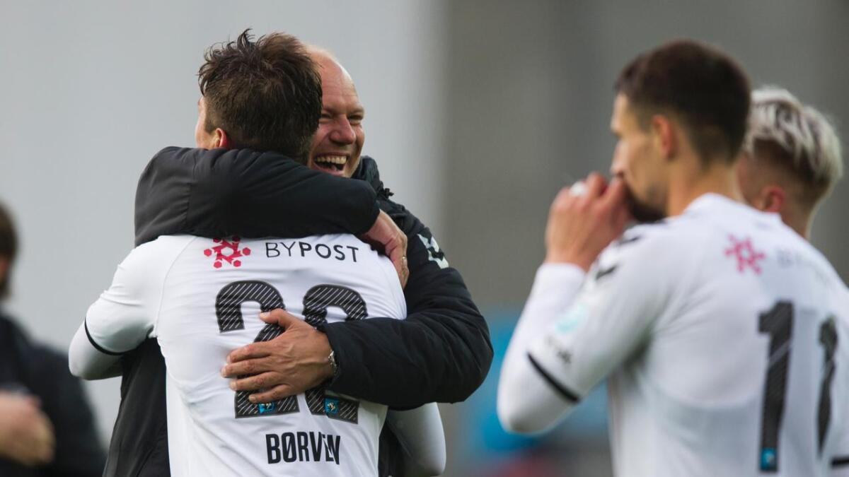 Matchvinnerscoringen er Børvens sjette for sesongen.
