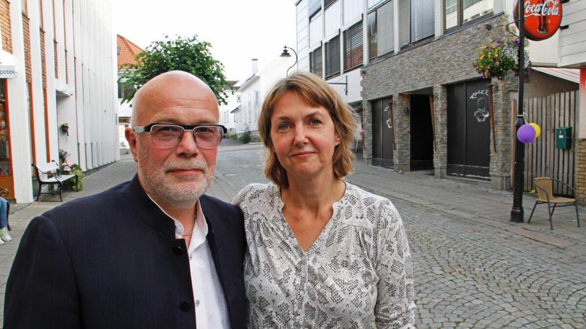 Festivallederne Kurt og Ivonne Salo synes det er spennende å være i gang. Festivalen arrangeres for første gang denne uken.