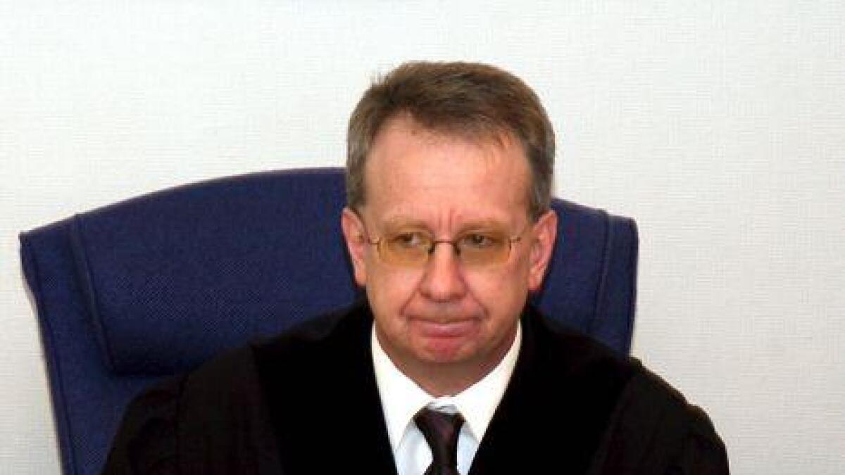 Sorenskriver Håvard Skjeldås er positiv til å samle Telemarks domstoler i Skien..