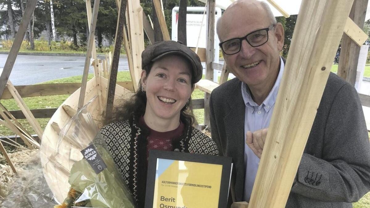 Berit Osmundsen i Oselvarverkstaden er tildelt stipend frå Kulturminnefondet:
