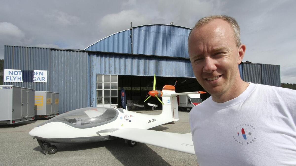 Magne Solberg – pilot i SAS og stevneleder for Telemark Airshow.