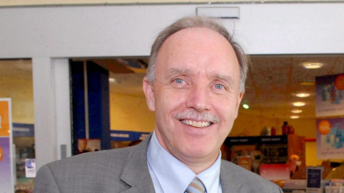 Ordfører Sture Pedersen (H).