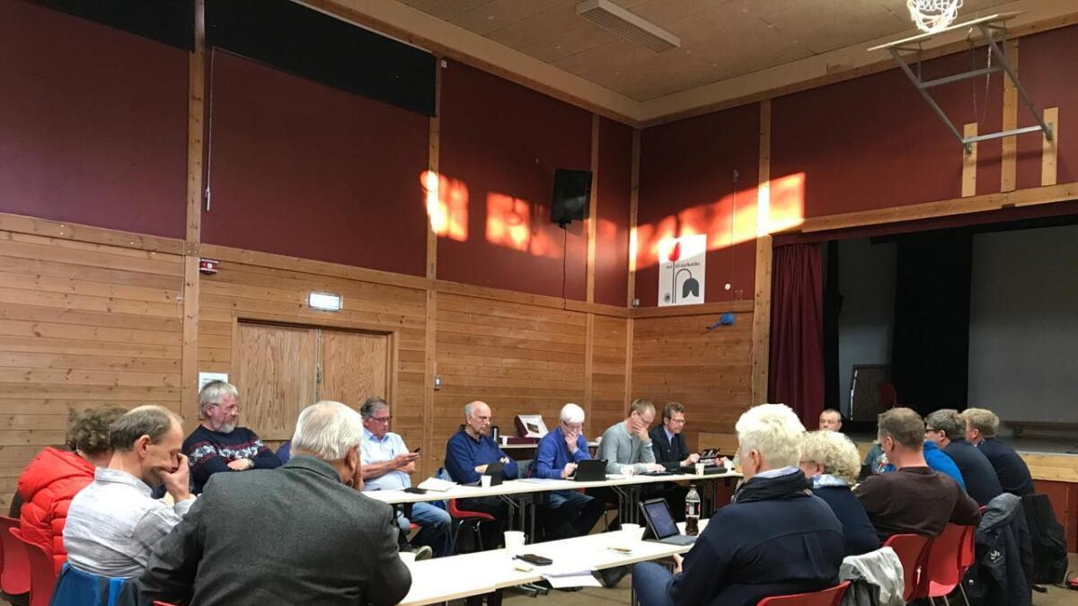 Kommunestyret sa nei til Aanesland-avtalen.