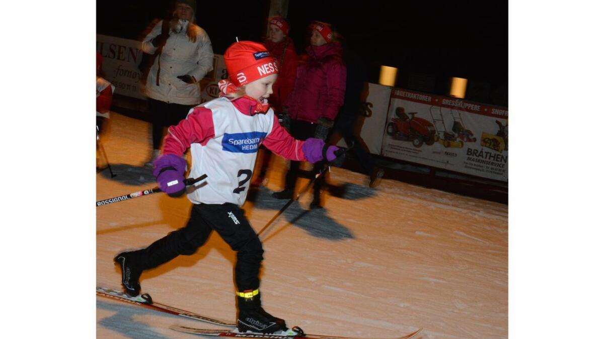 Madelen Hofseth, Nes Ski, i den reneste Klæbo-stilen.