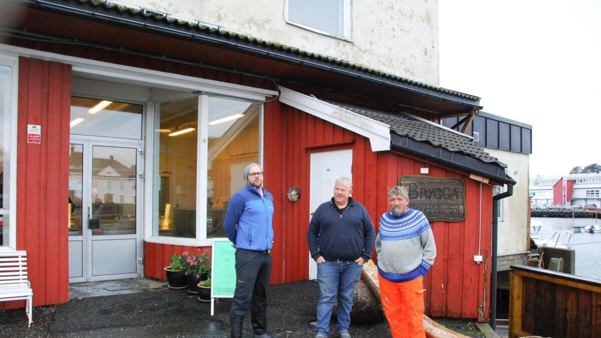 Fiskernes Salgslag har pratet om lysten på å lage fiskerestaurant på Torskeholmen.