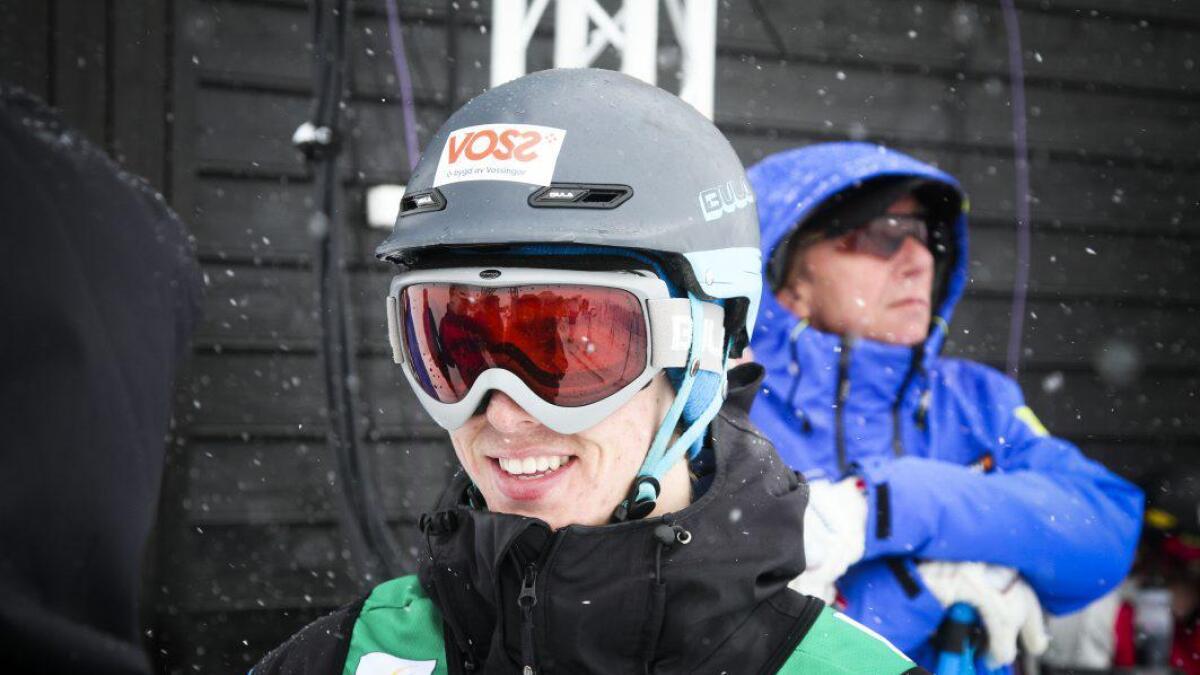 Tevje Lie Andersen og Vinjar Slåtten lukkast ikkje heilt under verdscupen i Kina denne veka. Bilete frå verdscupen i Myrkdalen 2014.