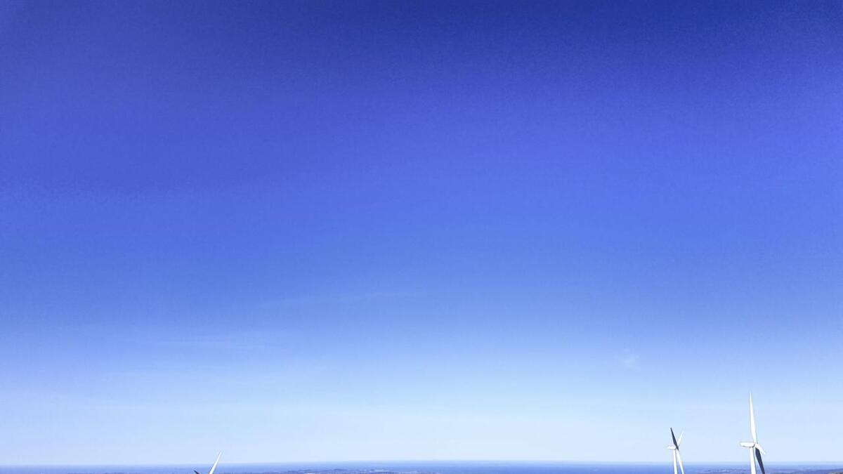 Midtfjellet er eit av områda i Fitjar kommune der du kan samla stolpar.