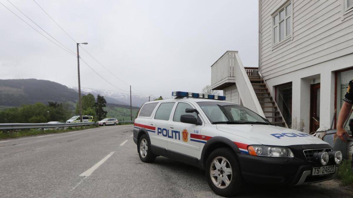 Politiet hadde promillekontroll natt til laurdag. Biletet er nytta som illustrasjon til saka, og er henta frå arkivet.