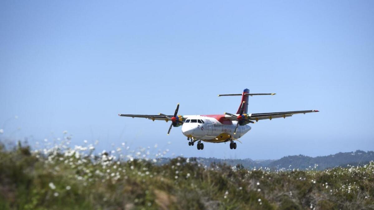 Danish Air Transport (DAT) vurderer om det er mogeleg å tilby charterpakker til turistar frå Sunnhordland.
