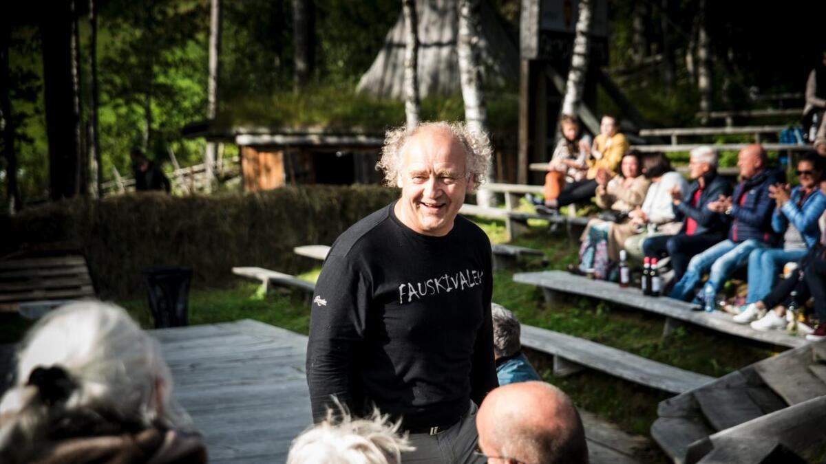 Knut Fausko har på 10 år greidd å bygge opp Fauskivalen til eit kulturelt flaggskip for Hemsedal.
