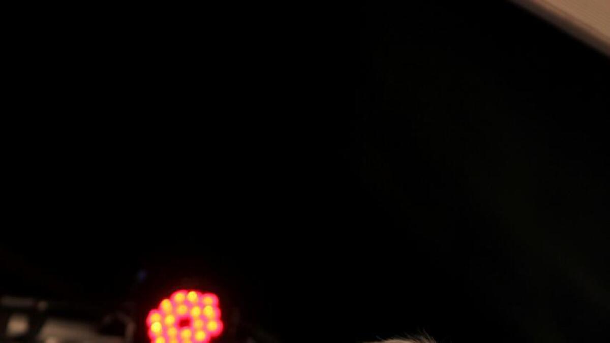 Kurt Nilsen gjorde ein god konsert i kafeteltet på «Veko» onsdag kveld.