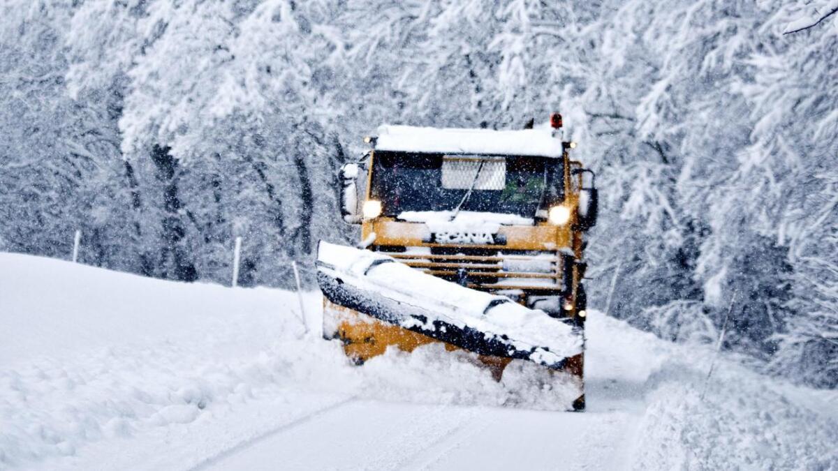 Kor mykje snø kan om å det vera før det vert brøyta?